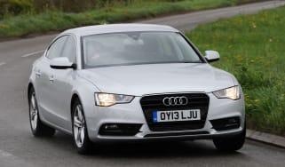 Audi A5 Sportback 2.0 TDI SE Technik front action