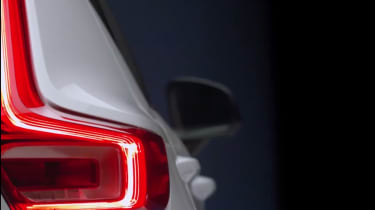 Volvo XC40 leaked - rear light