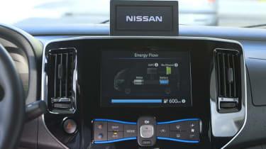 Nissan e-Bio Fuel Cell prototype vehicle interior