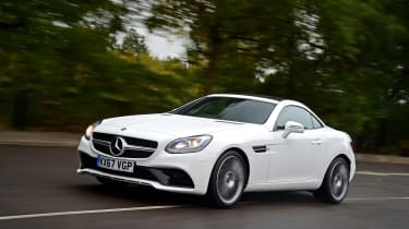 Mercedes SLC 180 - front action