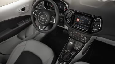 Jeep Compass 2017 interior