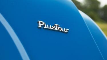Morgan Plus Four - Plus Four badge