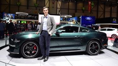 2018 Geneva Motor Show stars - Ford Mustang Bullitt Lawrence Allan