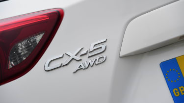 Mazda CX-5 - rear badge
