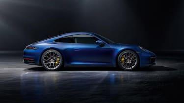 Porsche 911 - side blue