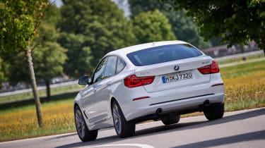 BMW 340i GT - rear cornering