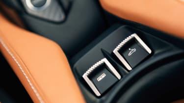 McLaren 720 Spider - interior detail