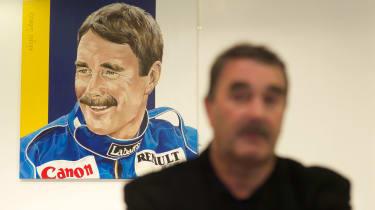 Nigel Mansell Mitsubishi dealership
