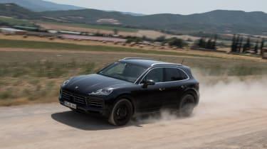 Porsche Cayenne prototype - front off-road