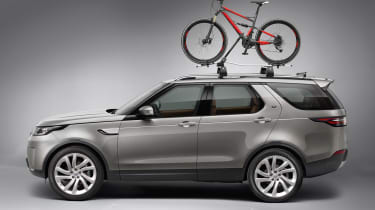 Land Rover Discovery 2017 - official bicycle