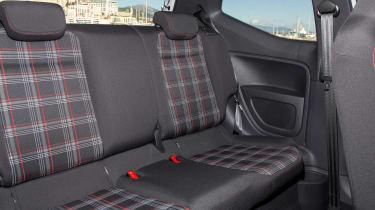 Volkswagen up! GTI - rear seats
