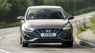 New Hyundai i30 driving - front