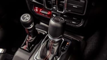 Jeep Wrangler  - gearstick