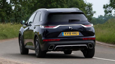 DS 7 Crossback - rear cornering