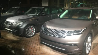 Range Rover Velar with Range Rover Sport