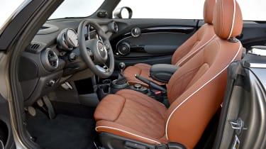 MINI Cooper S Convertible 2016 review - interior