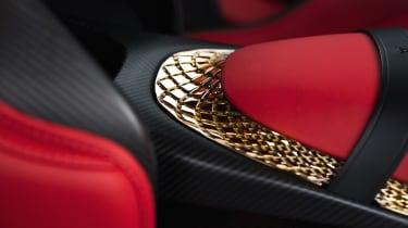 Aston Martin DBS GT Zagato - interior detail