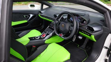 New Lamborghini Huracan interior