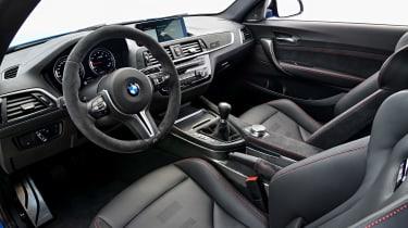 BMW M2 CS - cabin