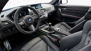 BMW M2 CS - cabin
