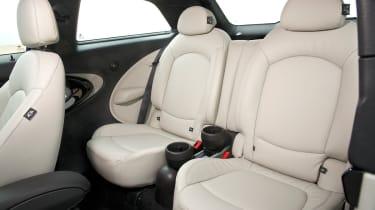 MINI Cooper SD Paceman rear seats