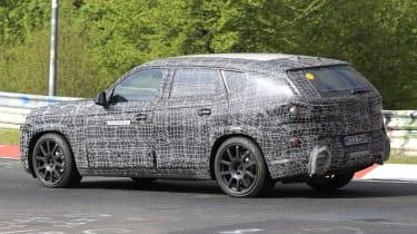 BMW X8 - spyshot 9