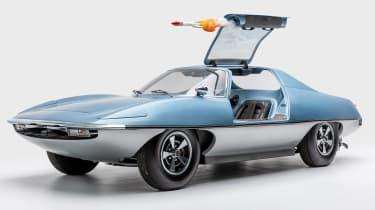 Petersen Automotive Museum  - AMT Piranha U.N.C.L.E - front static