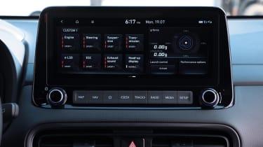 Hyundai Kona N - infotainment