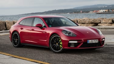 Porsche Panamera Turbo S E-Hybrid Sport Turismo - front