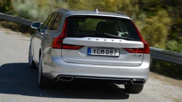 Volvo V90 - rear driving