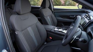 Hyundai Tucson - front seats