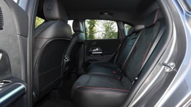Mercedes b-class rear seats