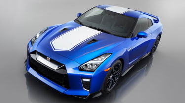 Nissan GT-R 50th Anniversary Edition - studio above