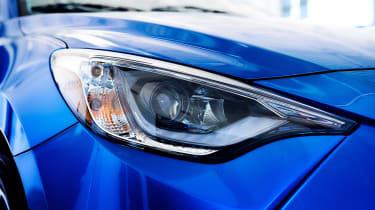 Toyota Yaris - headlight
