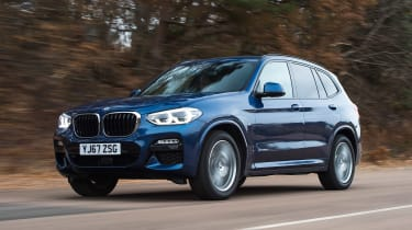 BMW X3 - front
