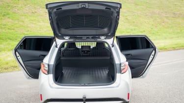 Toyota Corolla Commercial hybrid van - boot