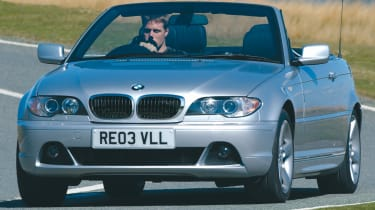 BMW 3 Series E46 front