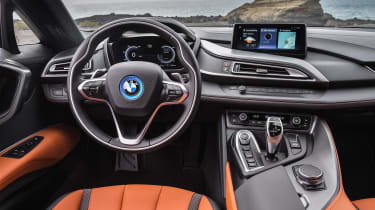 BMW i8 Roadster - interior