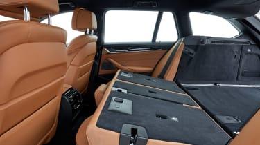 BMW 5 Series Touring - seats down