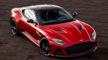 Aston Martin DBS Superleggera - above static