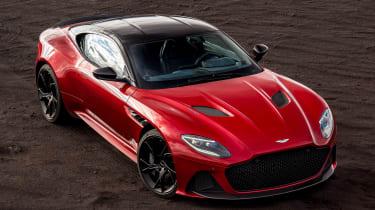 Aston Martin DBS Superleggera - above static