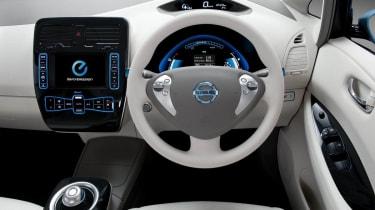 Nissan Leaf interior