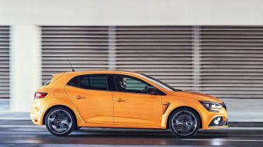 Renault Megane R.S. - side action