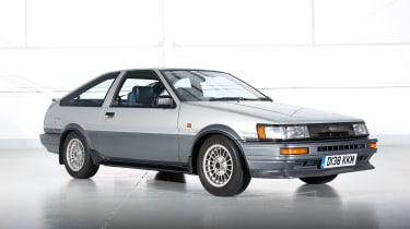 Best cars of the 80s: Toyota Corolla AE86