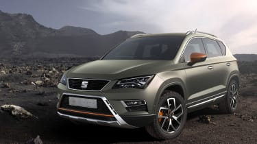 SEAT Ateca X-Perience front static
