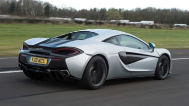 McLaren 540C - rear