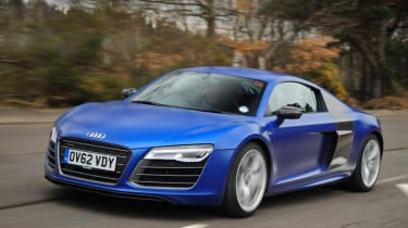 Used Audi R8 - front