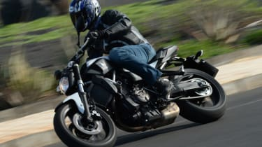 Yamaha MT-07 review - front