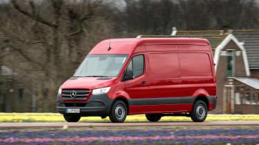 Mercedes Sprinter - front red