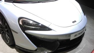 McLaren 570GT 2016 - Geneva Stand Shot Front Detail